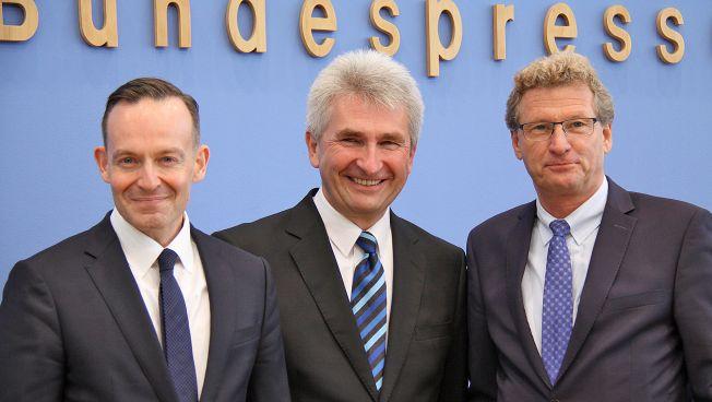 Volker Wissing, Andreas Pinkwart und Bernd Buchholz