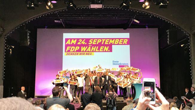Die Großveranstaltung der Freien Demokraten in Dresden