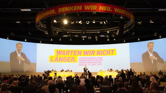Lindner redet auf Sonderparteitag
