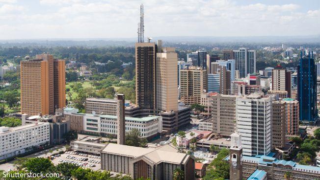 Die kenianische Hauptstadt Nairobi