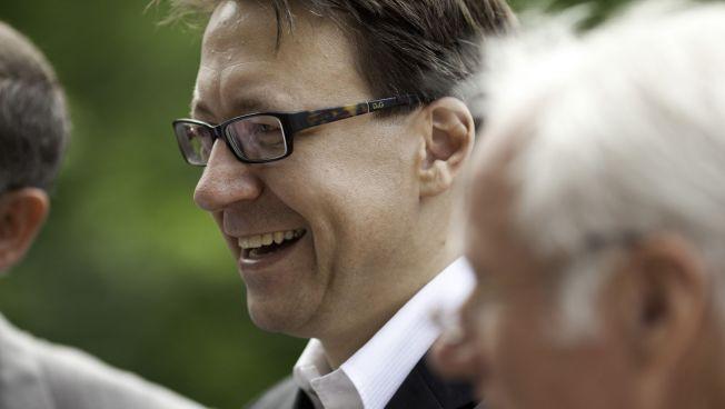 Der Spitzenkandidat der FDP Niedersachsen zur Landtagswahl, Stefan Birkner