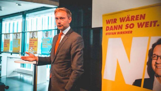 Wahlkampf in Niedersachsen mit Christian Lindner und Stefan Birkner. Bild: facebook.com/fdpnds