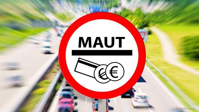 Pkw-Maut-Schild