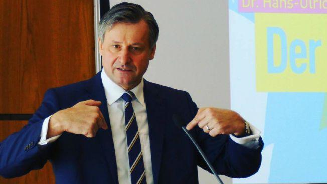 Hans-Ulrich Rülke im Landtag