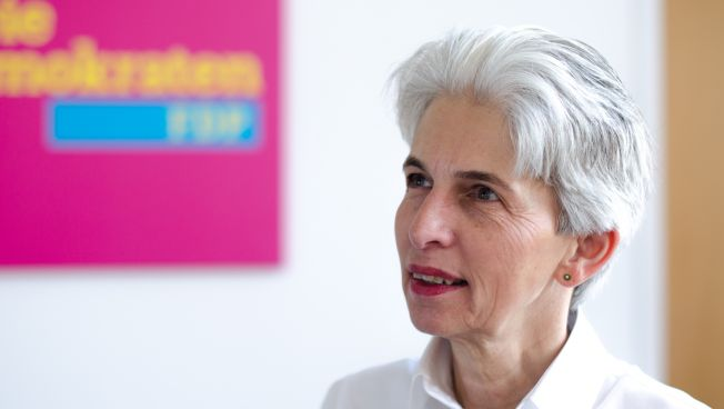 Marie-Agnes Strack-Zimmermann im Bild Talk und Stefan Ruppert in der ARD