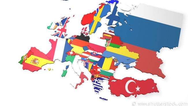 Bildergebnis für europakarte