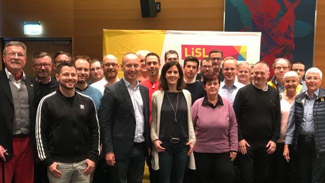 Katja Suding war bei der LiSL-Mitgliederversammlung in Berlin zu Gast