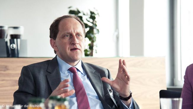 Alexander Graf Lambsdorff hielt die Laudatio