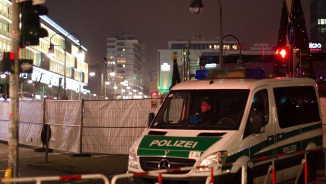 Der Breitscheidplatz nach dem Anschlag