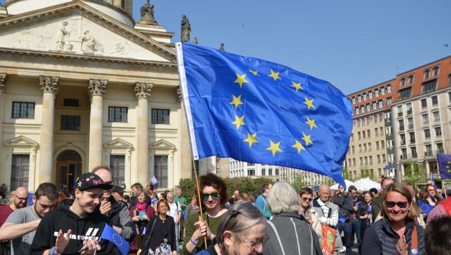 Pulse of Europe in Berlin