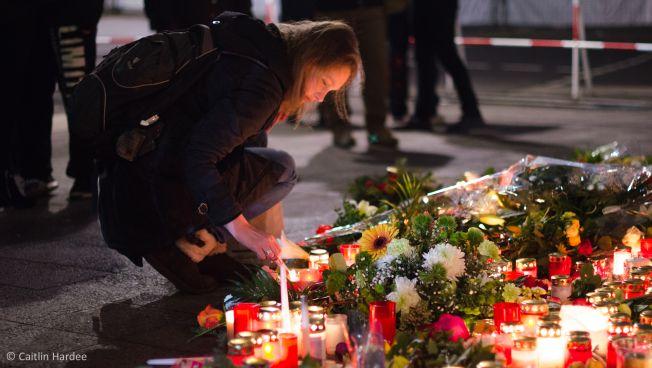Kerzen am Breitscheidplatz