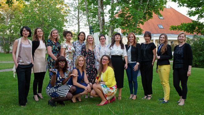 Die Teilnehmerinnen der European Women's Academy 2017