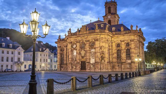 Die Luwdigskirche in Saarbrücken