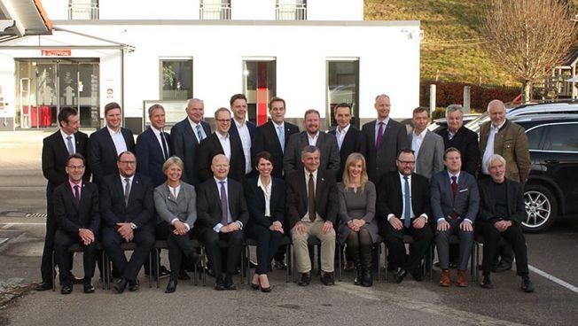 Die baden-württembergischen FDP-Abgeordneten bei ihrer Klausurtagung