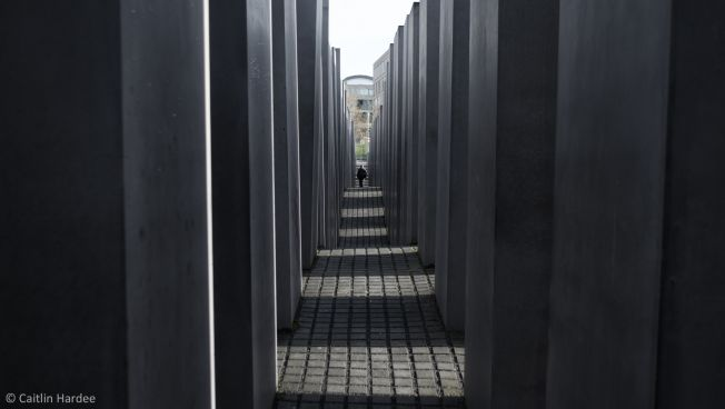 Das Holocaust-Mahnmal in Berlin