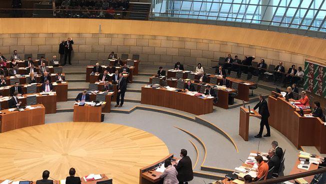Christof Rasche spricht im Landtag NRW. Bild: FDP-Fraktion NRW