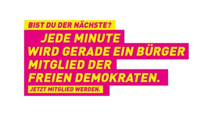 Werden auch Sie FDP-Mitglied