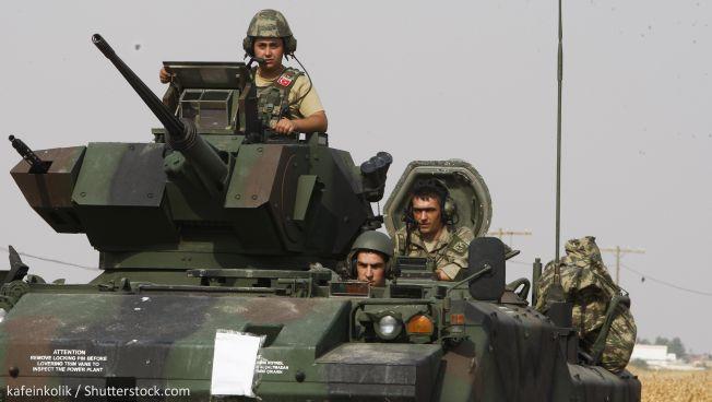 Symbolbild: Türkische Truppen im Syrien-Einsatz. Copyright: kafeinkolik / Shutterstock.com