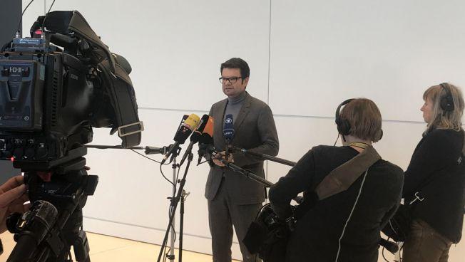 Marco Buschmann sieht den schwarz-roten Koalitionsvertrag kritisch. Bild: twitter.com/fdpbt
