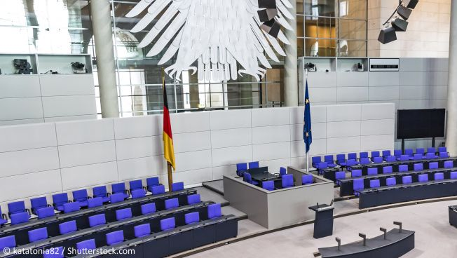 Der Deutsche Bundestag. Bild: katatonia82 / Shutterstock.com