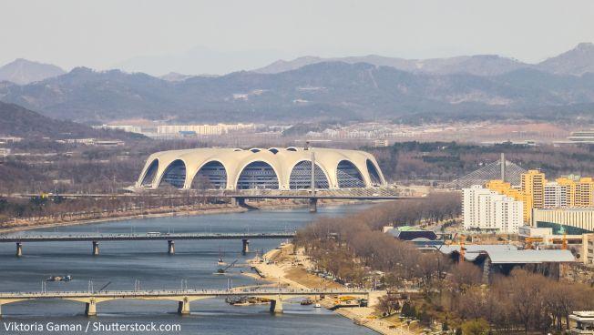 Die nordkoreanische Hauptstadt. Bild: Viktoria Gaman / Shutterstock.com