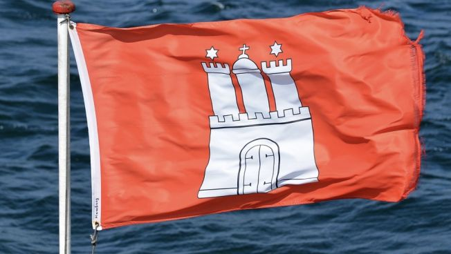 Hamburg-Fahne
