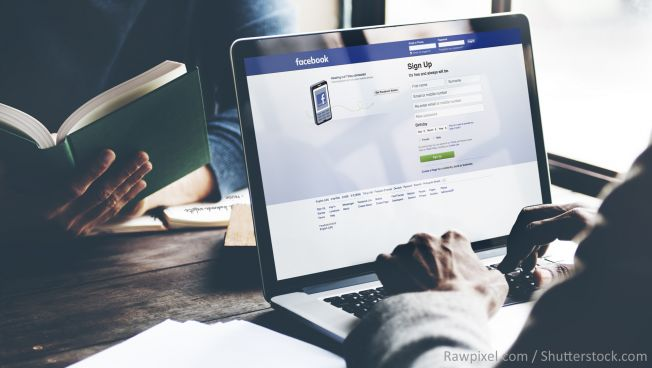 Facebook steht in der Kritik. Bild: Rawpixel / Shutterstock.com