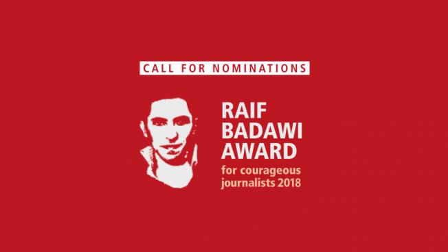Die Stiftung für die Freiheit ruft zu Nominierungen für den Raif Badawi Award auf