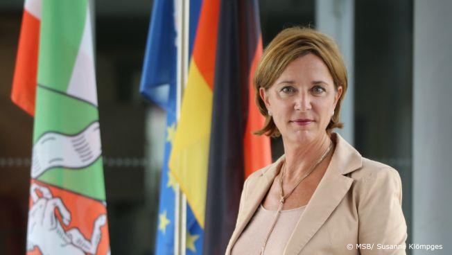 Yvonne Gebauer. Bild: MSB / Susanne Klömpges