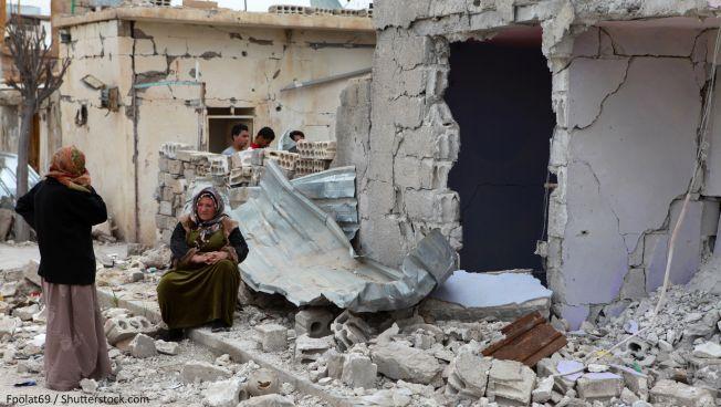 Symbolbild: Zerstörung in Syrien. Copyright: fpolat69 / Shutterstock