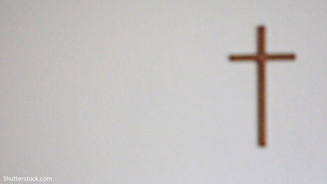 Symbolbild: Ein Wandkreuz