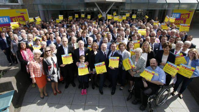 Die hessischen Freien Demokraten beim Landesparteitag