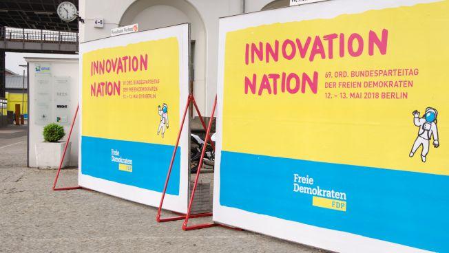 Der 69. Bundesparteitag steht im Sinne der Innovation
