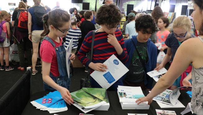 Die Stiftung beim Festival in Montréal. Bild: FNF