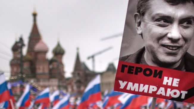 Nadezhda Mityushkina verteidigt Boris Nemtsovs Erbe. Bild: Boris Nemtsov Forum