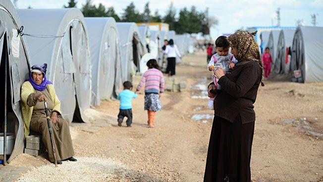 Flüchtlingslager in Nahost