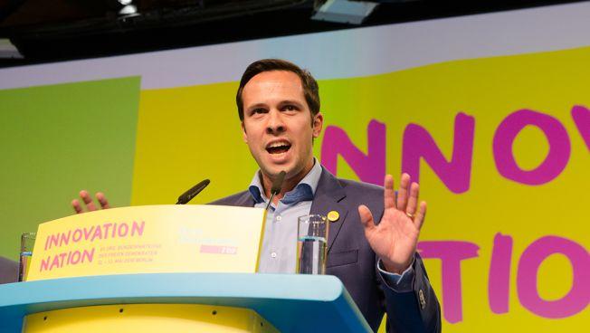 Martin Hagen führt die bayerische FDP in den Landtagswahlkampf