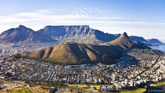 Die südafrikanische Metropole Kapstadt