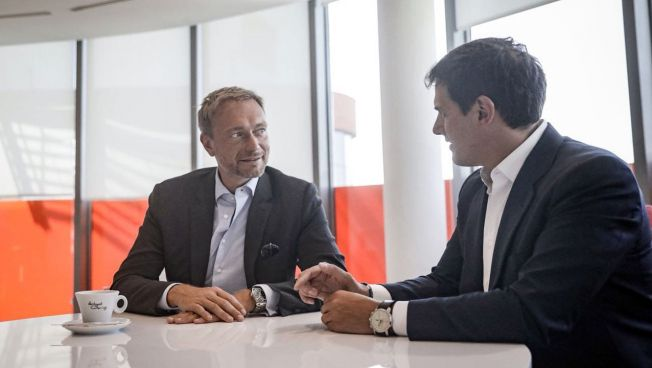 Christian Lindner und Albert Rivera