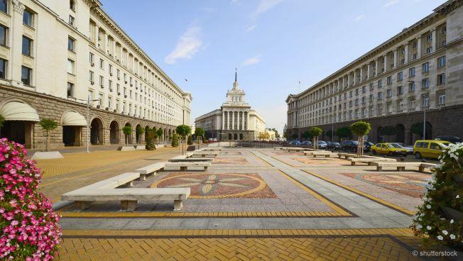 Die bulgarische Hauptstadt Sofia