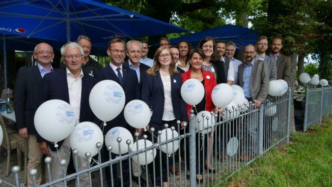 Liberale aus Deutschland, Österreich und der Schweiz beim Bodensee-Treffen. Bild: Stiftung für die Freiheit