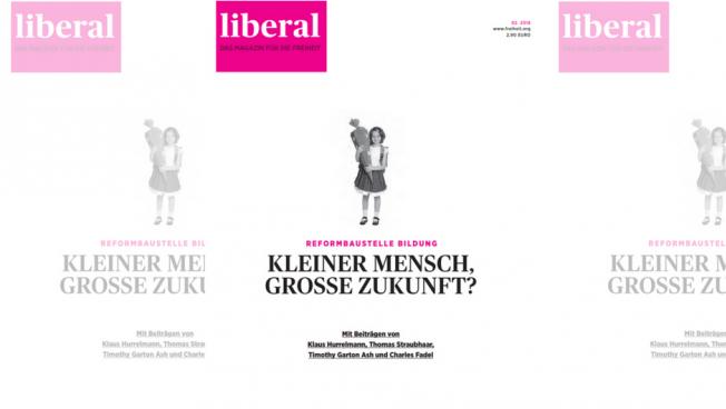 Die aktuelle liberal-Ausgabe