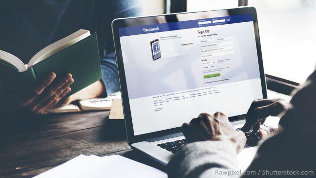 Die FDP ist seit 10 Jahren bei Facebook vertreten. Bild: Rawpixel / Shutterstock.com