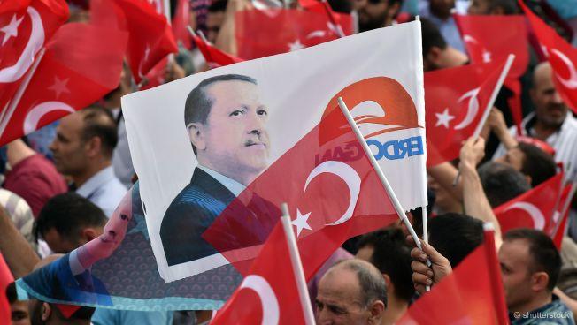 Erdogan-Auftritt in Istanbul