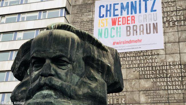 Chemnitz. Bild: Leon Köhler