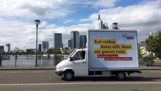 Die Freien Demokraten in Hessen lehnen Fahrverbote klar ab