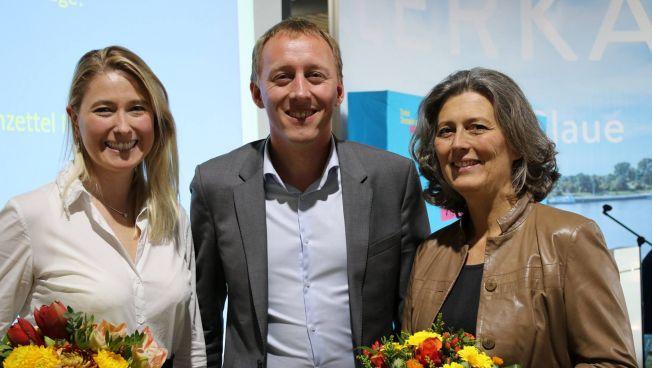 Lencke Steiner, Hauke Hilz und Zsuzsa Breier