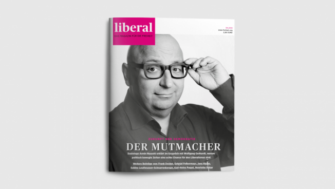 Cover Liberal-Magazin