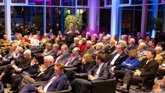 Otto Fricke MdB inmitten seines Publikums (Quelle:)Theodor-Heuss-Akademie