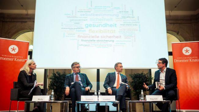 Christian Lindner, Dr. Dietmar Bartsch und Alexander Hagelüken